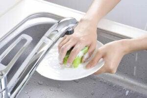 Yemekten hemen sonra bulaşıkları yıkayın
