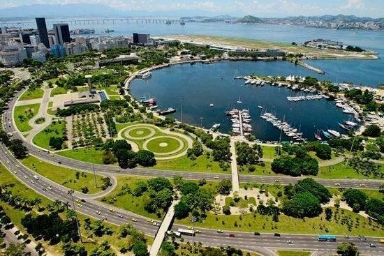 Burle Marx tarafından tasarlanan Flamengo Parkı
