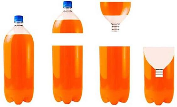Evinizden böcekleri uzaklaşmak için şişeden kapan