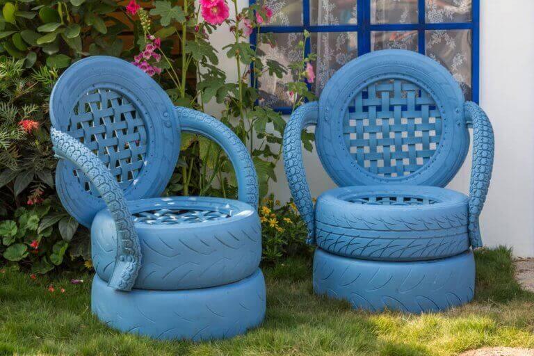 Lastik Sandalyeler - Yeni Bir Trend