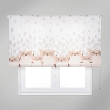Hayvan desenkli çocuk odası perdeleri