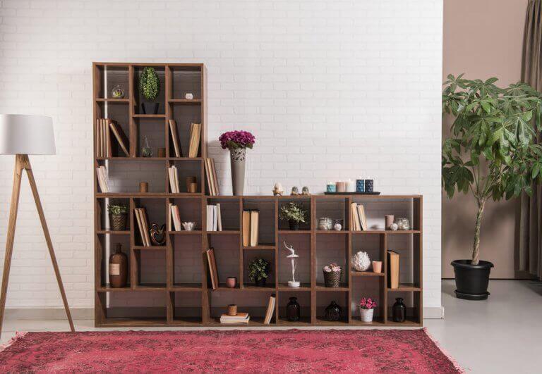 L şeklinde kütüphane