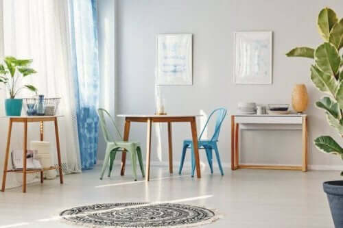 Tolix Sandalye - Alternatif Dekorasyon Fikirleri