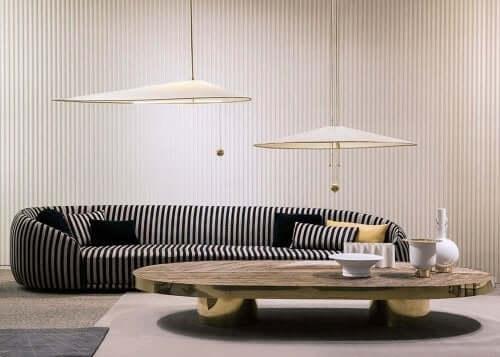 Chiara andreatti tarafından tasarlanmış salon