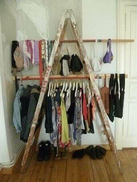 Giyinme Odanızı Geri Dönüşüm Ürünleriyle Dekore Edin
