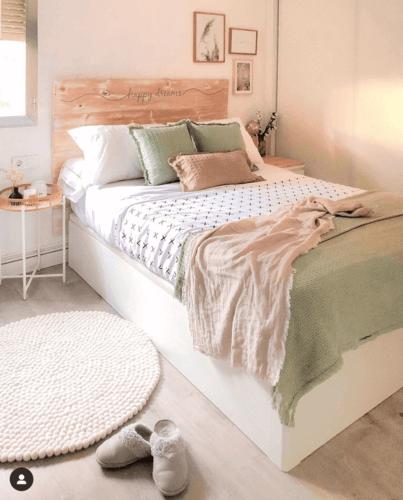 pastel yatak odası