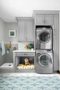 Pratik bir çamaşır odası oluşturun.