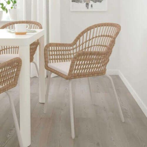 Yemek odanız için hasır sandalye