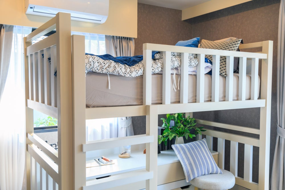 bunk bed study