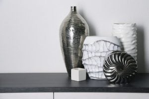 The ceramic vase can take any number of shapes, sizes and textures...