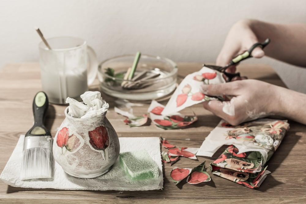 Decoupage napkins quality