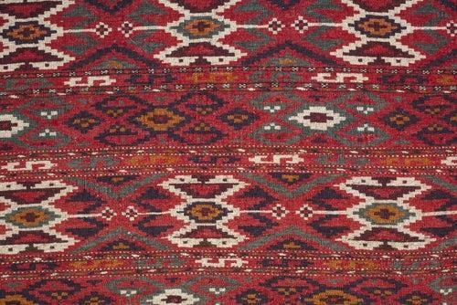 An ethnic rug.