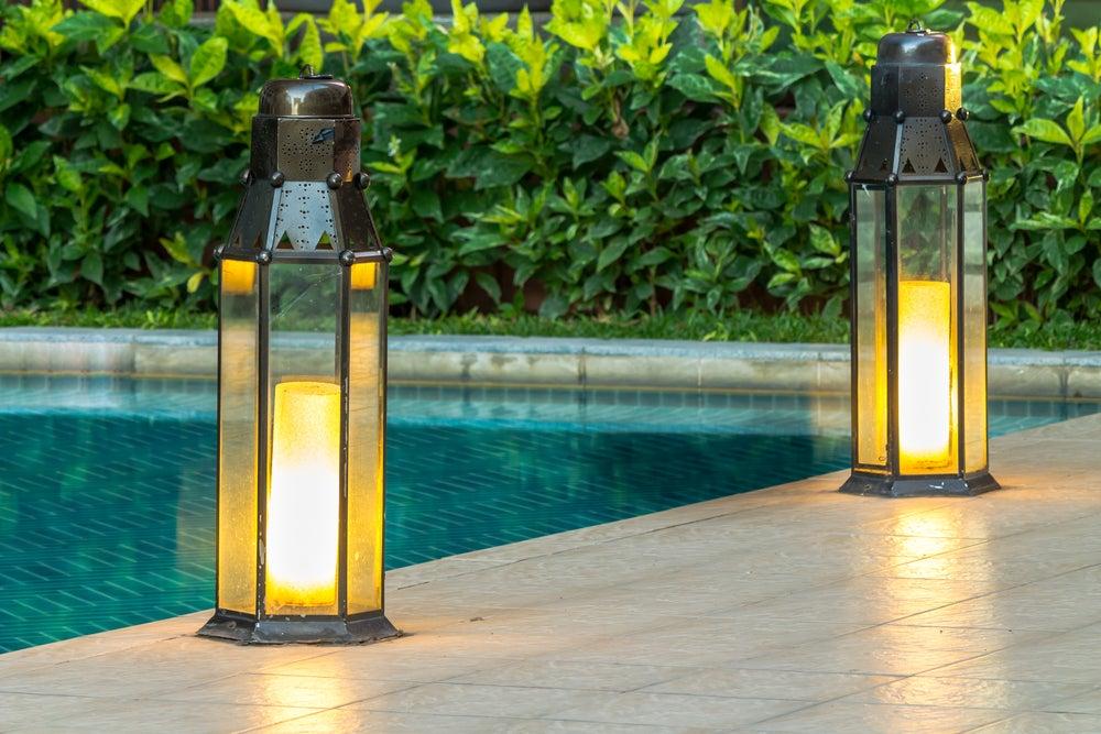 Garden energy saving lightbulbs