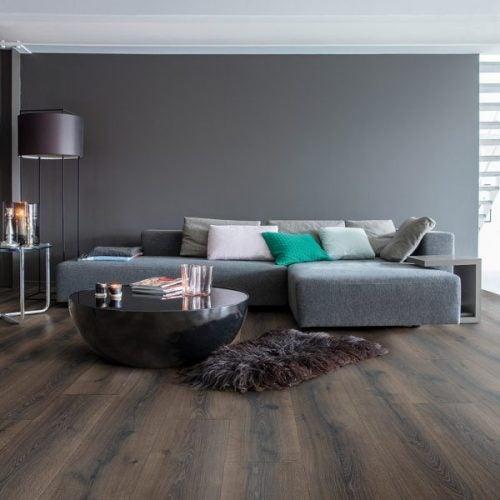 Oak flooring.