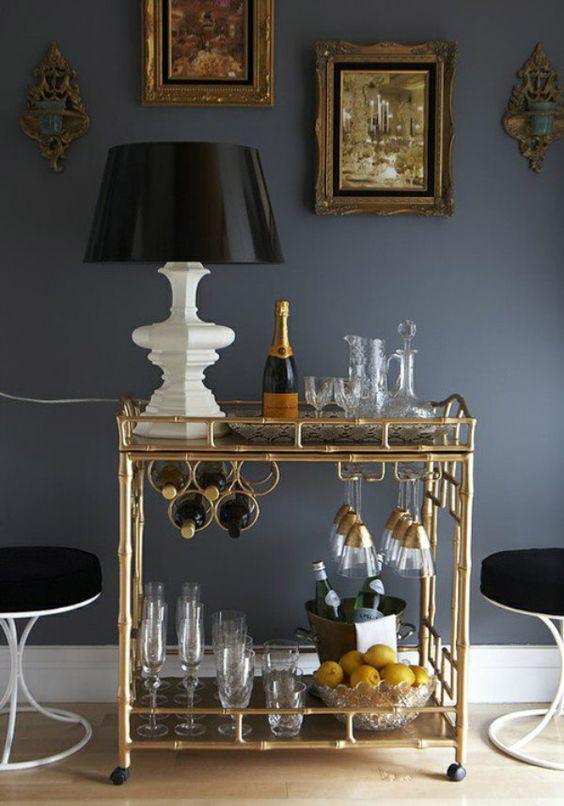 serving cart elegance classic