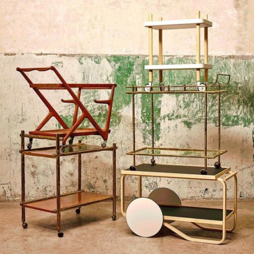 Serving Carts: both Functional and Decorative