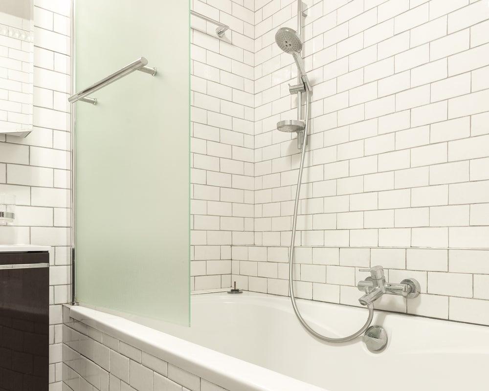 Shower door material
