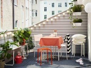 Balcony garden lights
