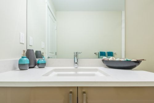 Bathroom product sink counter