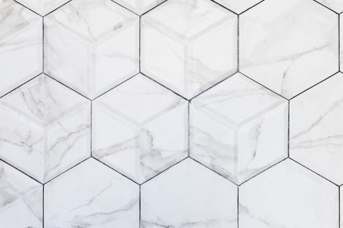 Bathroom tile material