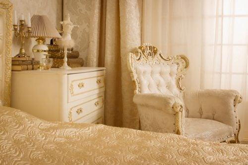 빈티지 침실용 탁자