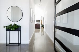 Modern mirrors are the perfect finishing touch for a chic and stylish entrance hall.