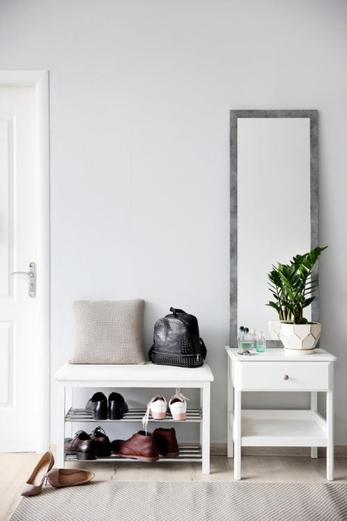 4 Shoe Storage Ideas for Your Summer Home