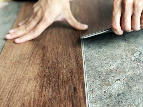 vinyl floor