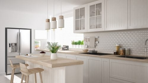 Textured Tiles for Kitchens: decoration and originality