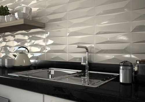 Textured tiles geometric
