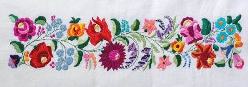 Types of Embroidery for Your Towels