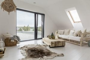 Adding a window or two means that you attic will no longer be a dark, cold space.
