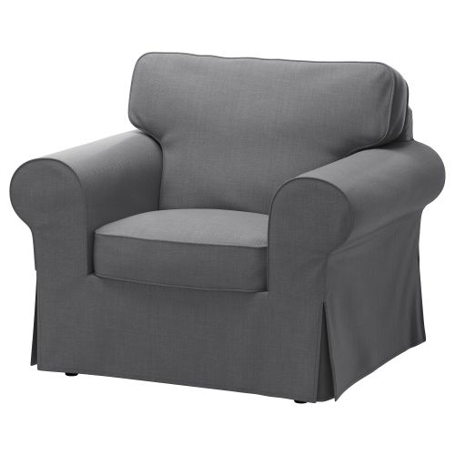 One of the armchairs from IKEA you can buy is this comfortable EKTORP sofa