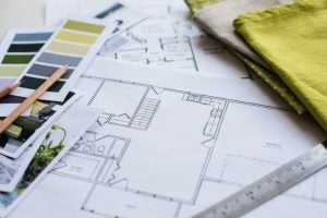 You'll need to come up with a floor plan to scale if you want to design your home properly.
