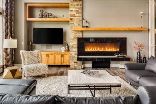 Fireplace Decor: Modern Accessories