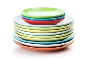 Dinnerware sets come in all different shapes and sizes.