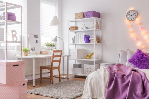 Keep their interests and hobbies in mind when decorating your teenagers' bedrooms