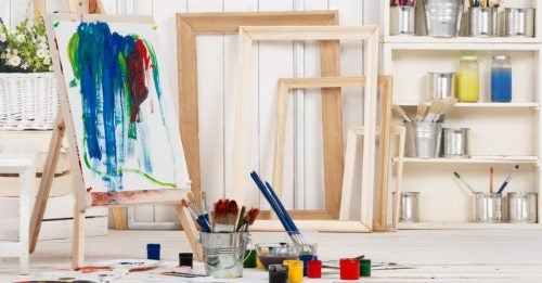 Ideas for Creating an Art Area in Your Home