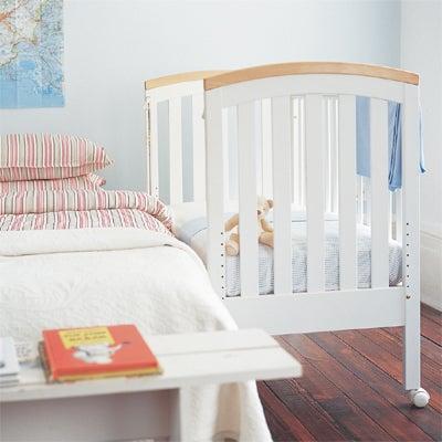 co-sleeping crib