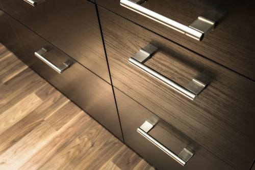 Closet handle minimalist