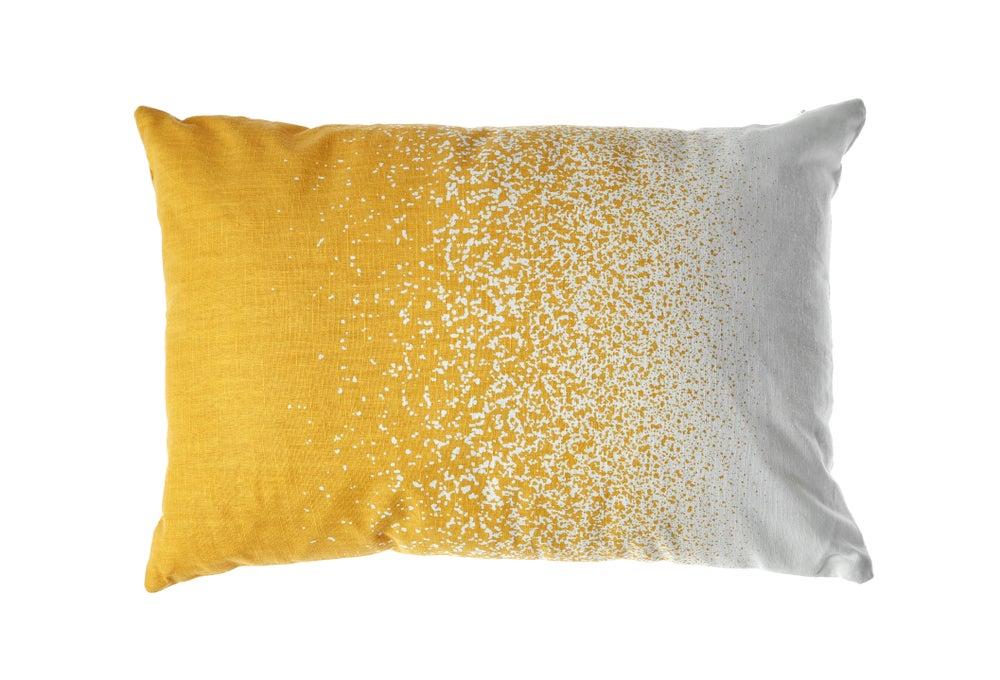 DIY prints can make fun, original cushion covers.
