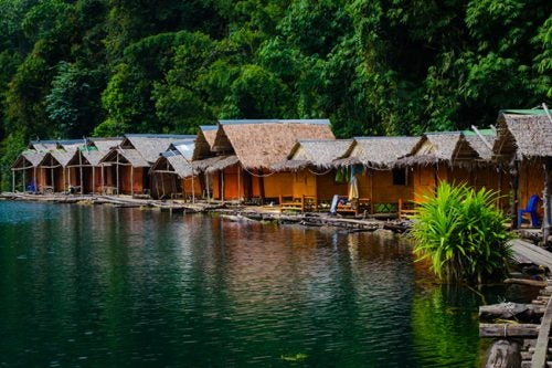 Floating homes thailand