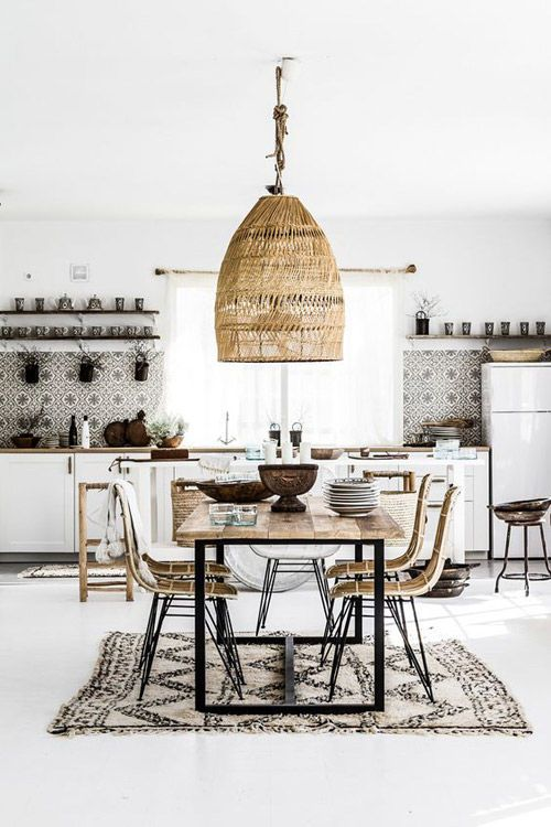 lighting in a nordic style kitchen