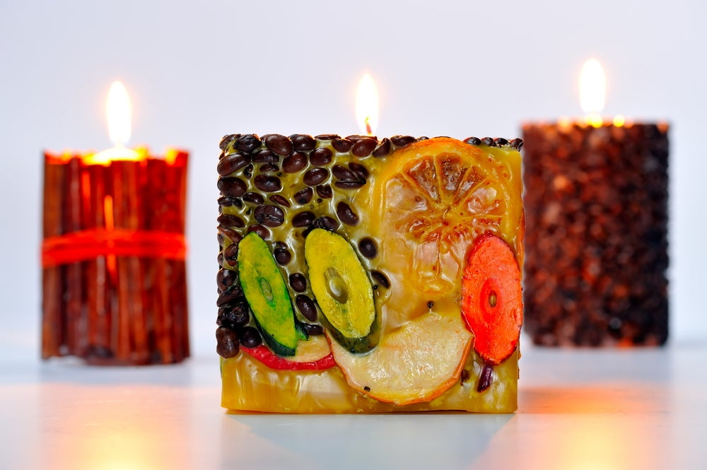 There are natural options for decorative candles.