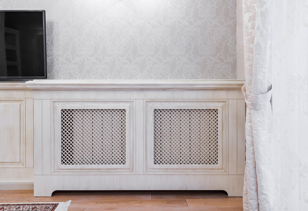 Hidden radiators need to be both functional and beautiful.