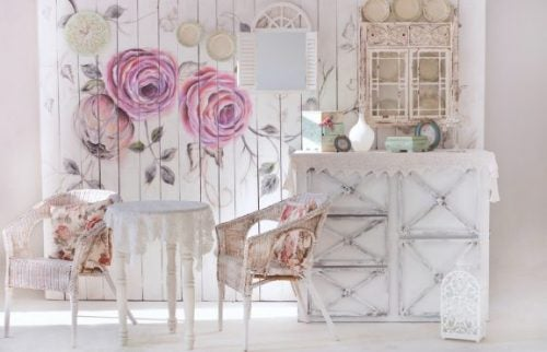 All The Keys For Creating A Shabby Chic Decor For Your Home