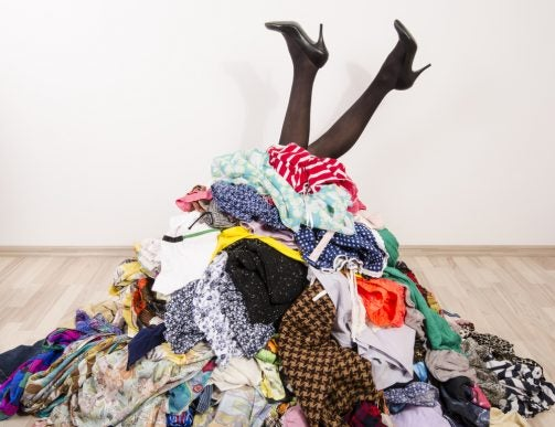 Too many Clothes in your Closet?