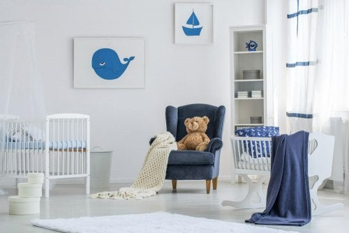 When decorating your baby's room, take advantage of natural light