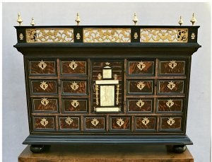 The bargueno was first used between the renaissance and baroque periods.
