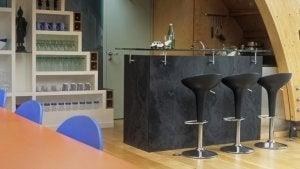 Every home bar needs bar stools.